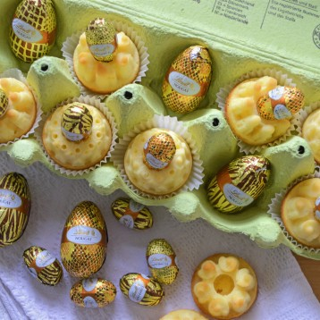 Zitronenküchlein Ostereier 2