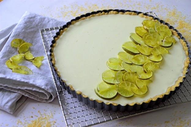 Limetten-Tarte