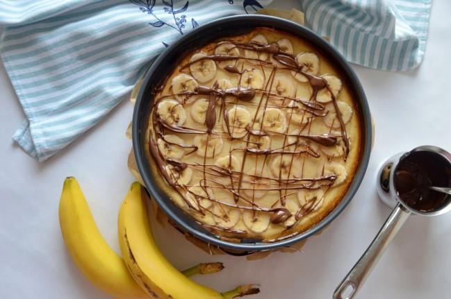 Bananenkäsekuchen 1