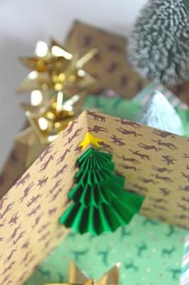 3D-Weihnachtskarte 3