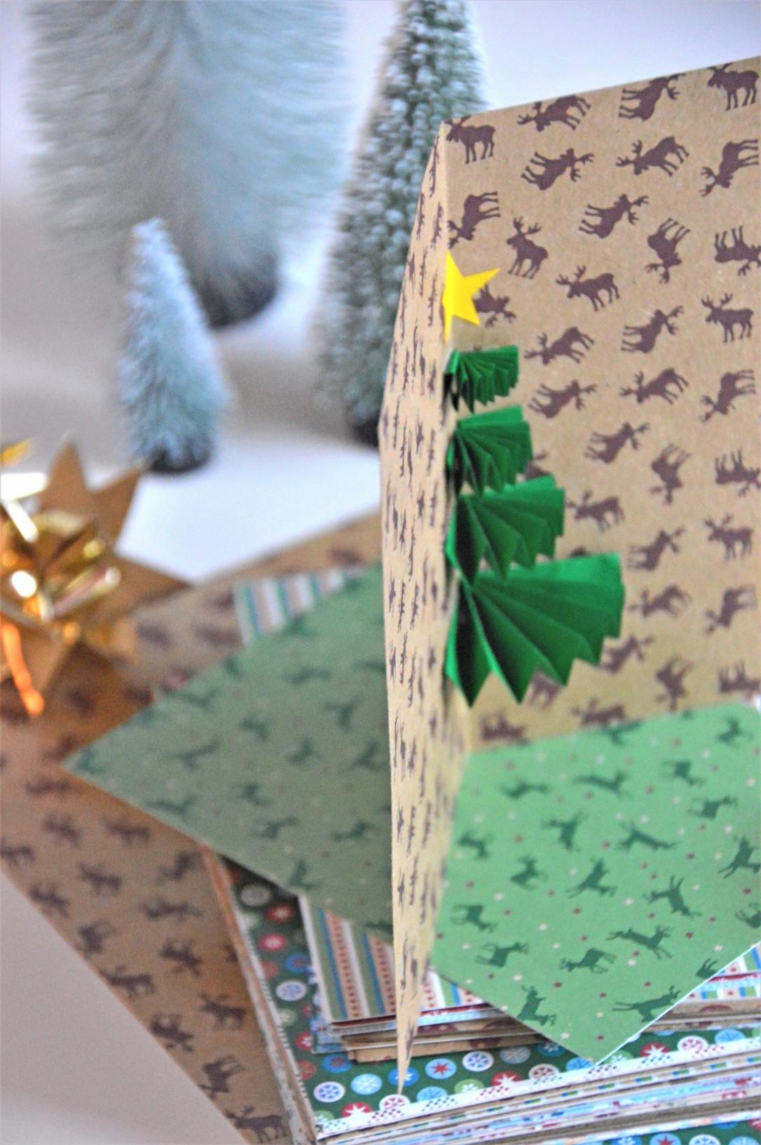 3D-Weihnachtskarte