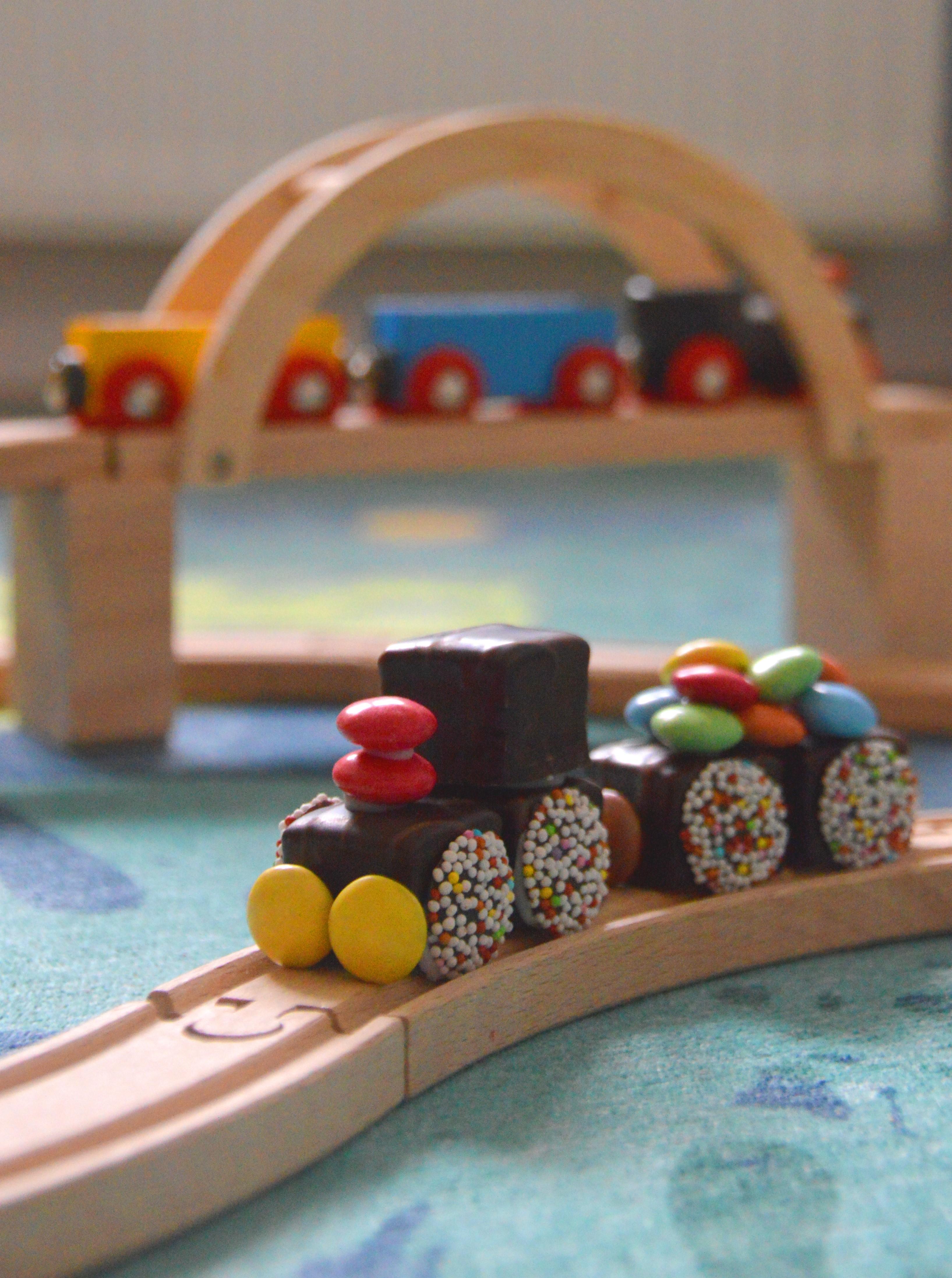 Eisenbahn Dominosteine